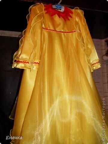 """Вот такое платье получилось у меня для костюма солнышко к фестивалю """"Надежда"""" фото 1"""
