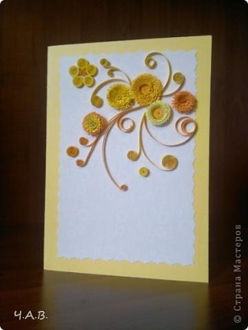 Благодарю всех мастериц за вдохновение!!! Сделала открытки к 8 Марта!))) фото 2