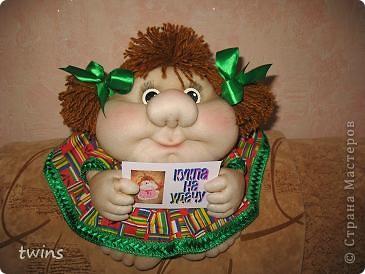 эта кукла сшита на заказ фото 1