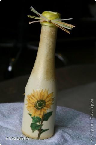 Эта бутылочка была еще одним подарком маме на 8-е марта. фото 4