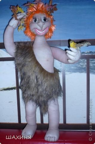 Первая моя большая кукла АДАМ (60 СМ). За руки спасибо Ликме, Улыбку с зубами научила Светлана26!,Да и корпус у Светланы смотрела и делала. А само лицо пыталась сделать как (ПАВА) у Дашеньки...но вышла далеко не Дашенька :))  фото 1