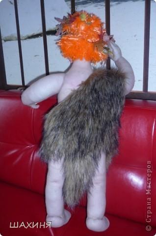 Первая моя большая кукла АДАМ (60 СМ). За руки спасибо Ликме, Улыбку с зубами научила Светлана26!,Да и корпус у Светланы смотрела и делала. А само лицо пыталась сделать как (ПАВА) у Дашеньки...но вышла далеко не Дашенька :))  фото 3