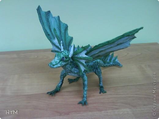 По мастер- классу http://stranamasterov.ru/node/109770?c=favorite_b  сделала дракона. фото 3