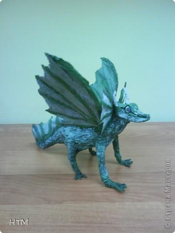 По мастер- классу http://stranamasterov.ru/node/109770?c=favorite_b  сделала дракона. фото 2