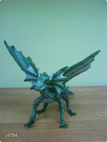 По мастер- классу http://stranamasterov.ru/node/109770?c=favorite_b  сделала дракона. фото 5