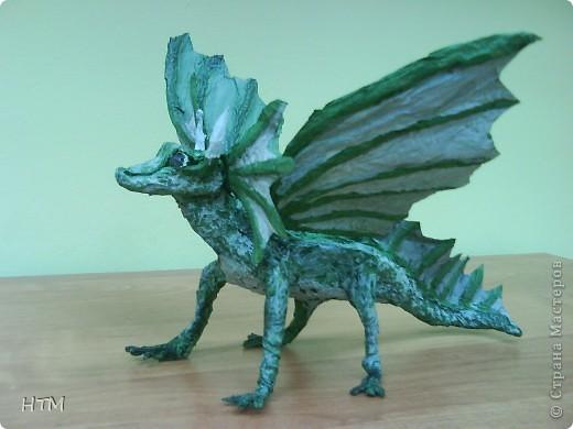 По мастер- классу http://stranamasterov.ru/node/109770?c=favorite_b  сделала дракона. фото 1