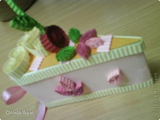 Вот такие тортики мы приготовили на 8 марта на первом занятии! Это тортики - коробочки для подарка. Спасибо Стране за МК!!! фото 6