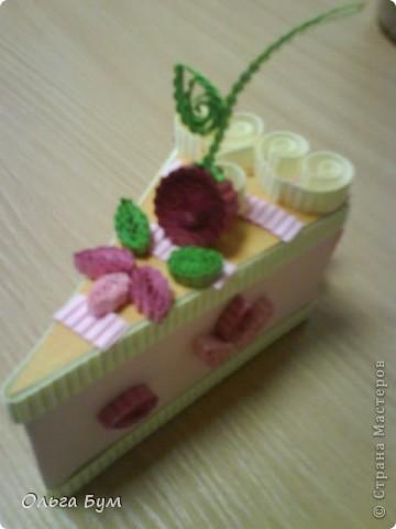Вот такие тортики мы приготовили на 8 марта на первом занятии! Это тортики - коробочки для подарка. Спасибо Стране за МК!!! фото 7