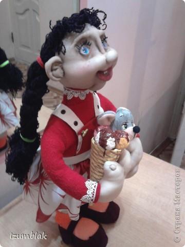 Моя первая кукла - Луша, рост - 48 см, сделана по МК pawy, за что ей огромное спасибо. фото 2