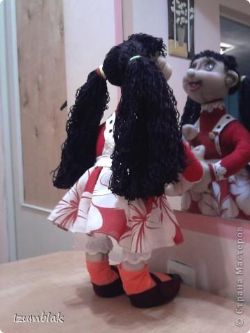 Моя первая кукла - Луша, рост - 48 см, сделана по МК pawy, за что ей огромное спасибо. фото 3