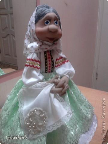 Моя первая кукла - Луша, рост - 48 см, сделана по МК pawy, за что ей огромное спасибо. фото 4