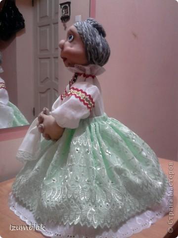 Моя первая кукла - Луша, рост - 48 см, сделана по МК pawy, за что ей огромное спасибо. фото 5