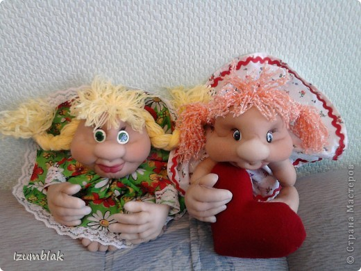 Моя первая кукла - Луша, рост - 48 см, сделана по МК pawy, за что ей огромное спасибо. фото 6