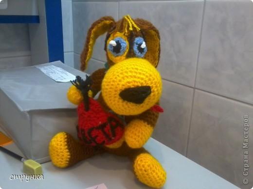 Вязание крючком - собаки.