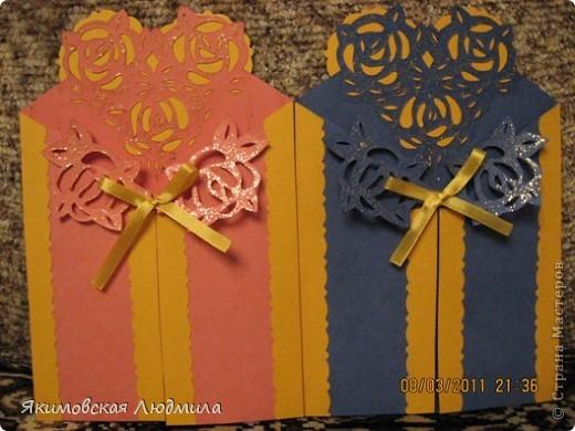 Вот такие открытки-приглашения я делала к 15-летнему юбилею нашего Центра. фото 6