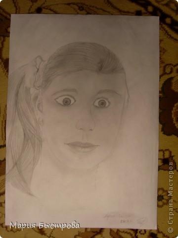 Давно хочу научится рисовать,но пока не имею возможности.По Интернету поискала то как рисовать и попробовала.Вроде как получилось.Если есть замечания,пишите ведь я хочу луче научится рисовать!