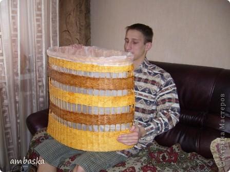 Еще одна корзина для белья, на дачу ведь тоже нужна. фото 1