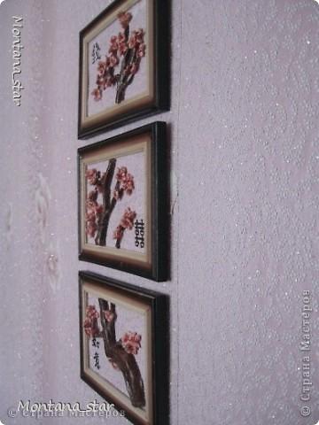 Сакура. Триптих фото 2