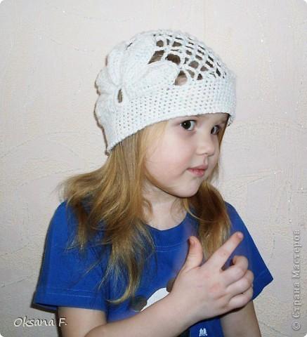 Увидела в инете такую шапочку, и решила, что у нас такая тоже должна быть:) фото 3