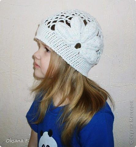 Увидела в инете такую шапочку, и решила, что у нас такая тоже должна быть:) фото 1