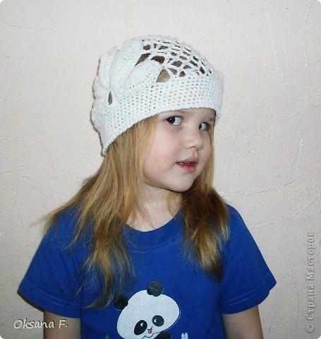 Увидела в инете такую шапочку, и решила, что у нас такая тоже должна быть:) фото 4