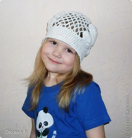Увидела в инете такую шапочку, и решила, что у нас такая тоже должна быть:) фото 2