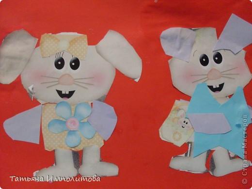 Яйца для веночка можно вырезать из любых каля маля вашего ребёнка,но мне очень хотелось использовать эти яркие салфетки фото 9