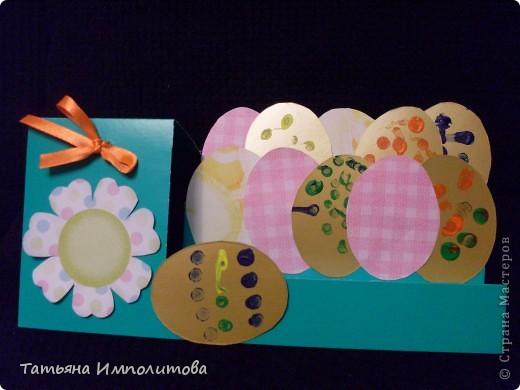 Яйца для веночка можно вырезать из любых каля маля вашего ребёнка,но мне очень хотелось использовать эти яркие салфетки фото 4
