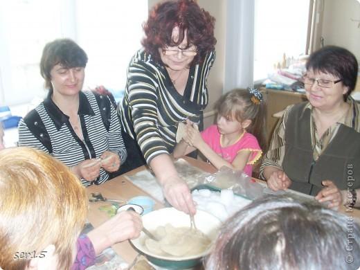 """13 марта я ходил с мамой на мастер-класс по валянию валенок. Называется клуб лоскутного шитья """"Истоки"""".  фото 5"""