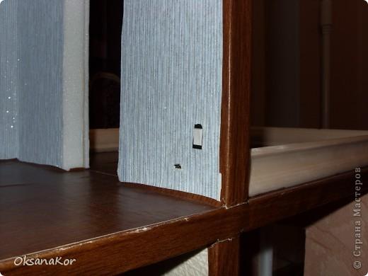 Вот и мой домик в подарок дочке на 8 марта. Сделан по МК Натальи Мостипановой. Смотрите здесь http://stranamasterov.ru/node/143557 . Это вид сбоку.  Домик подключен к аккумулятору. Об этом позже. Можно и в розетку, только нужен блок питания на 12 Вольт. фото 5