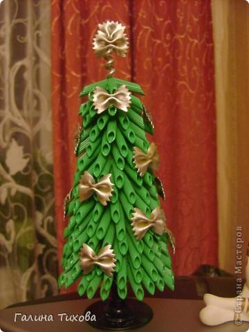 Рамка для фото, декорированная макаронами. фото 2