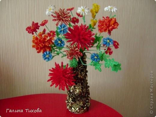 Рамка для фото, декорированная макаронами. фото 3