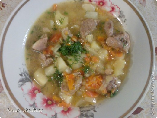 Всем привет))) я как обычно выкладываю рецепт на ночь ))) На этот раз это густой, ароматный, мясной суп-гуляш... очень вкусный... моим он очень нравится... надеюсь и Вам понравится))) фото 9