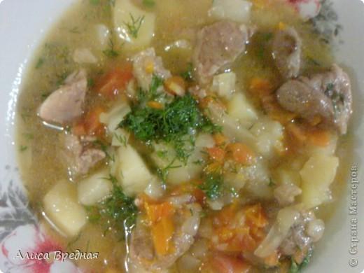 Всем привет))) я как обычно выкладываю рецепт на ночь ))) На этот раз это густой, ароматный, мясной суп-гуляш... очень вкусный... моим он очень нравится... надеюсь и Вам понравится))) фото 1