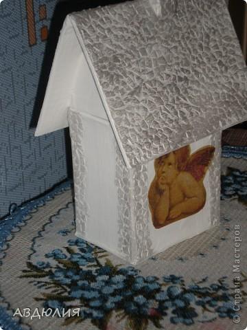 Домик для чайных пакетиков! фото 2