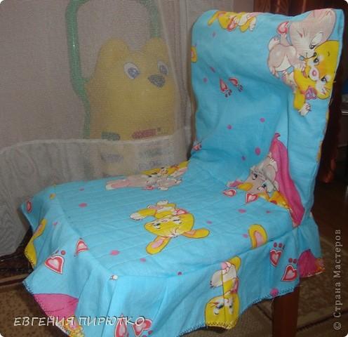 чехол на детский стульчик фото 1