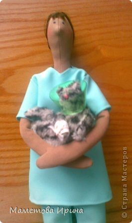 А у меня опять Тильда. Идею взяла в интернете, извиняюсь перед автором (если видит), но кукла шилась на заказ. фото 2
