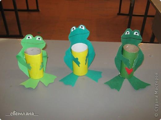 Поделки своими руками лягушку