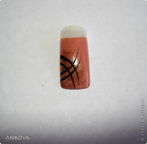 Здравствуйте,милые наши мастерицы!Решила сделать МК по росписи ногтей.Весна!Снимаем перчатки.Хочется свежести и обновления.Это совсем не сложно.Главное немного времени,чтобы дать высохнуть лаку. фото 5