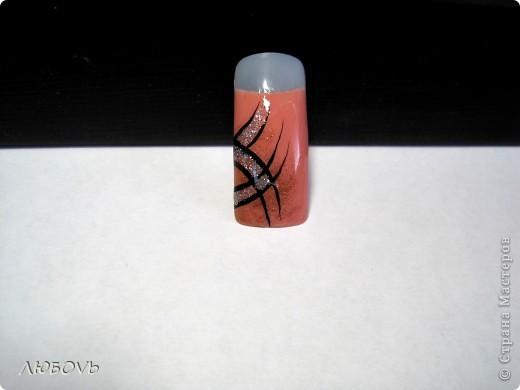 Здравствуйте,милые наши мастерицы!Решила сделать МК по росписи ногтей.Весна!Снимаем перчатки.Хочется свежести и обновления.Это совсем не сложно.Главное немного времени,чтобы дать высохнуть лаку. фото 7