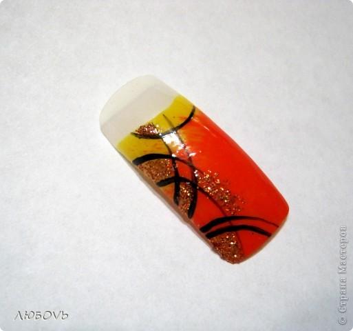 Здравствуйте,милые наши мастерицы!Решила сделать МК по росписи ногтей.Весна!Снимаем перчатки.Хочется свежести и обновления.Это совсем не сложно.Главное немного времени,чтобы дать высохнуть лаку. фото 8