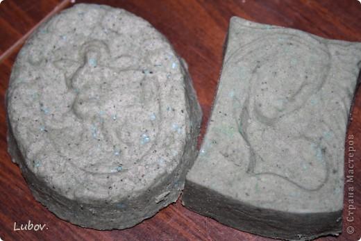 С голубой глиной и бисером. фото 1