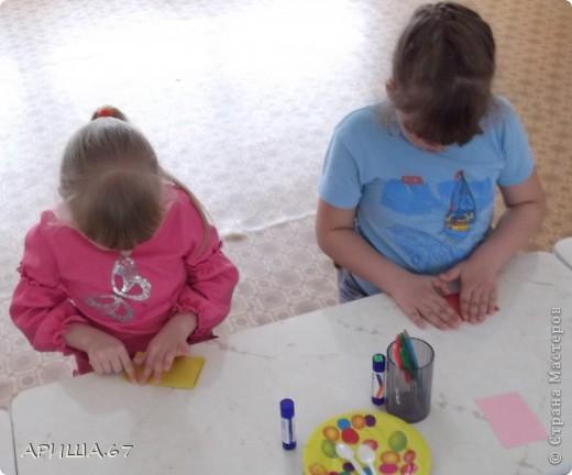 сегодня с шестилетками делали вот такие бабочки... фото 3