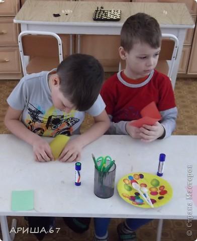 сегодня с шестилетками делали вот такие бабочки... фото 4