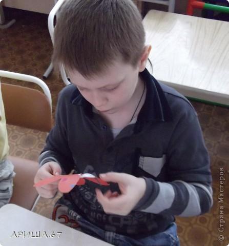 сегодня с шестилетками делали вот такие бабочки... фото 10