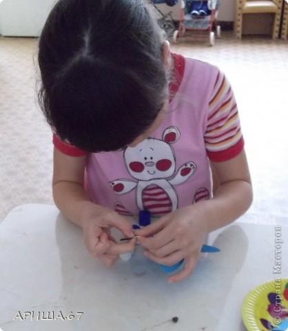 сегодня с шестилетками делали вот такие бабочки... фото 11