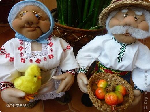Знакомьтесь! Это мы - Баба Мария и Дед Семен! фото 1