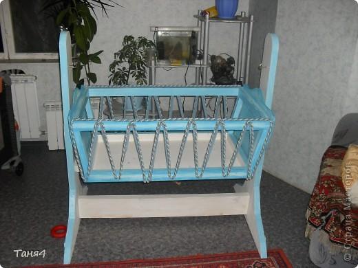 Роспись детской кроватки фото 4