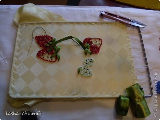 Вот такие ягодки у меня выросли на шелке. фото 3