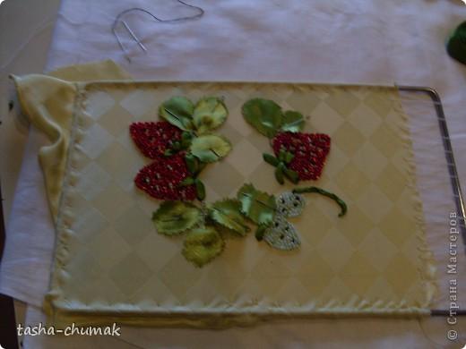 Вот такие ягодки у меня выросли на шелке. фото 4